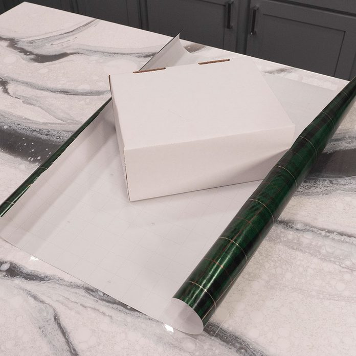 wrap a present with not enough paper