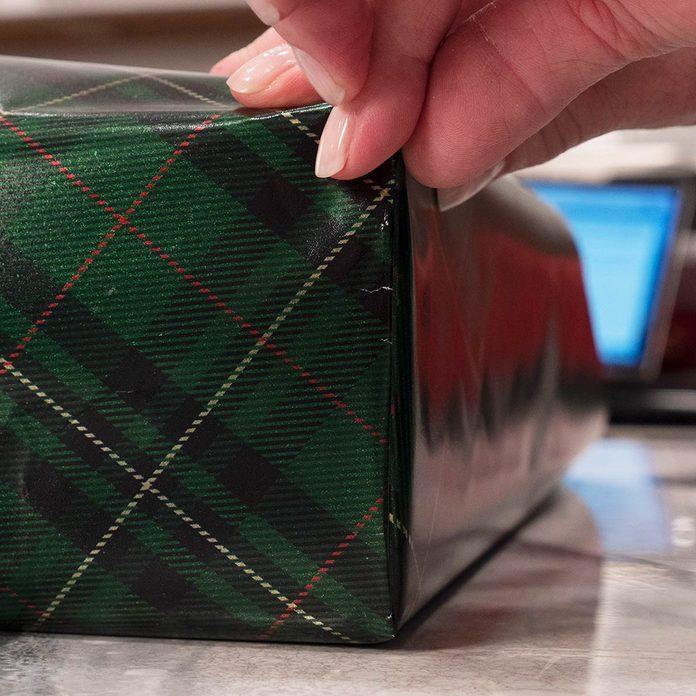 fold present edges flush to side