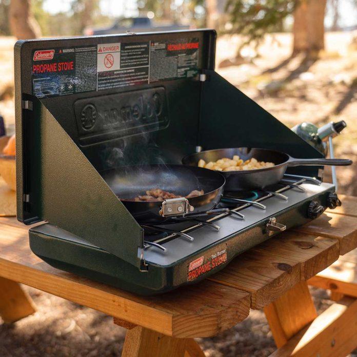Portable propane stove