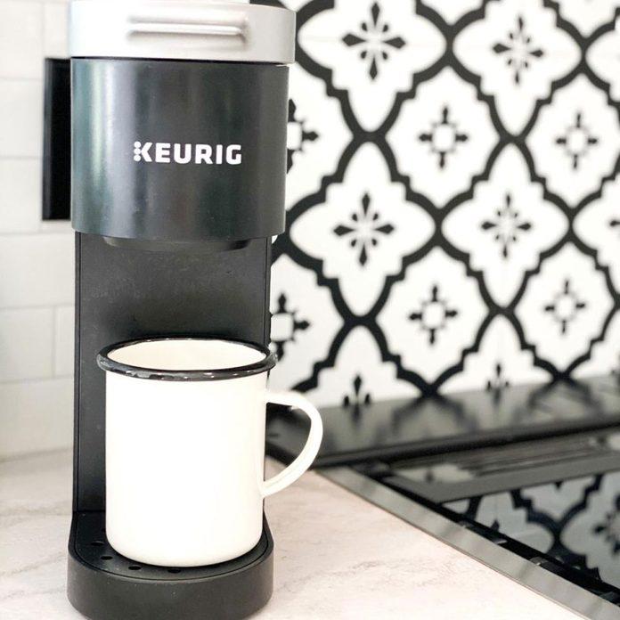 Min Keurig coffee maker