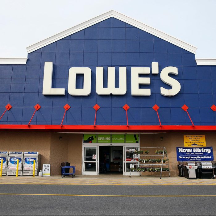 lowes store view from the front