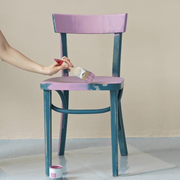 paint furniture chair