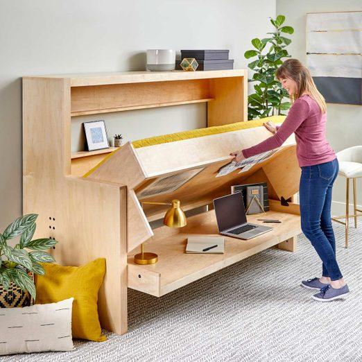 murphy bed desk