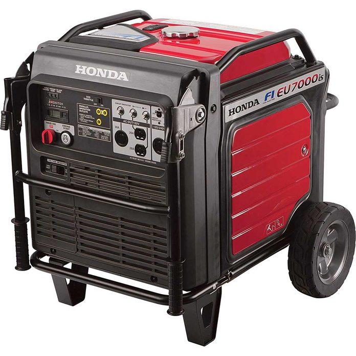 Photo of a Honda generator