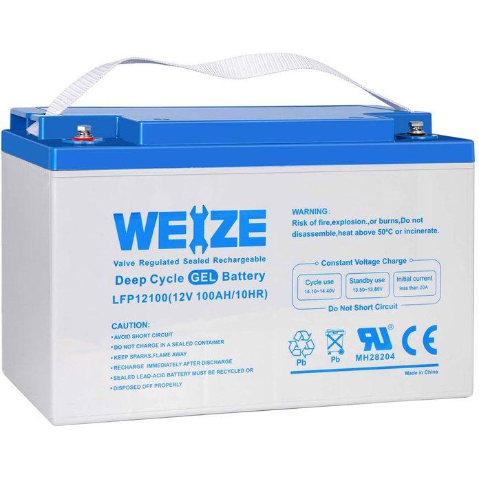 Weize gell cell battery