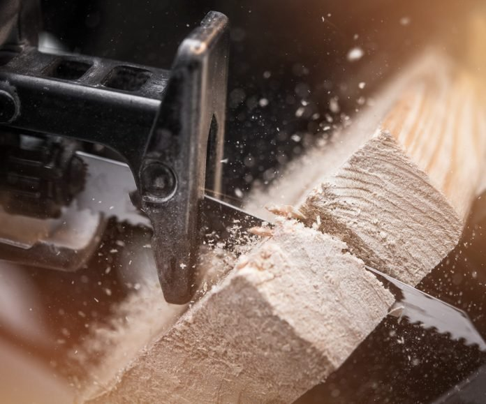Reciprocating Saw Wood Work
