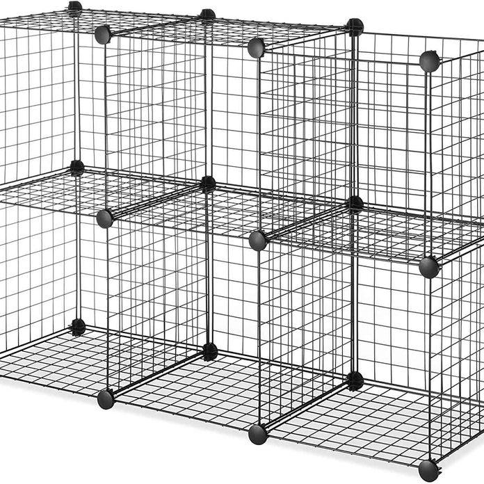 Wire storage cubes