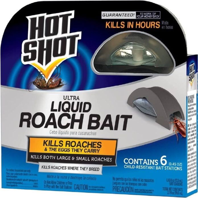 hot shot ultra roach bait trap