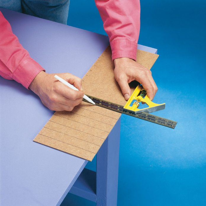 Measure and Mark chair template