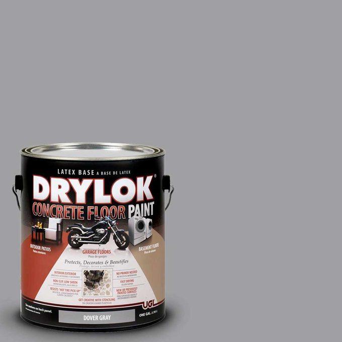 drylok concrete paint can