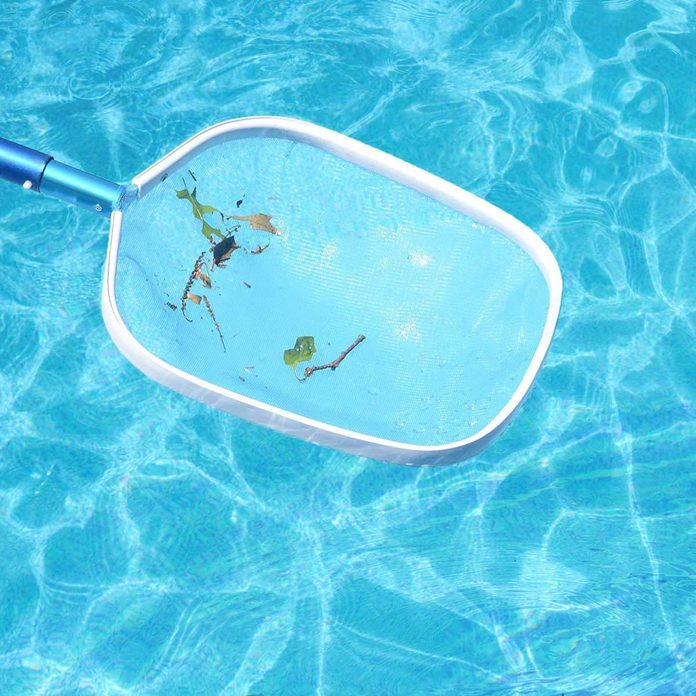 Pool cleaning net