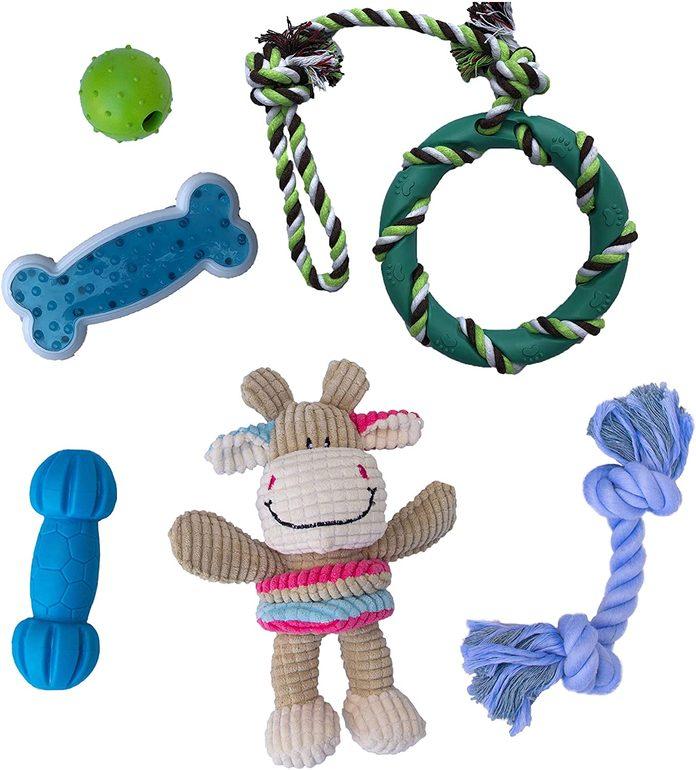 puppy chew toy starter pack