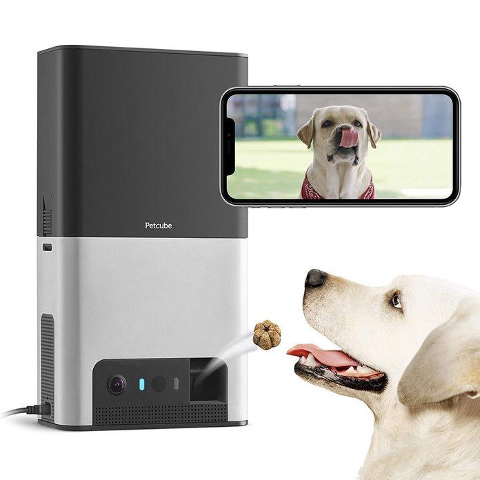 Petcube Bites 2 Wi-Fi Pet Camera with Treat Dispenser