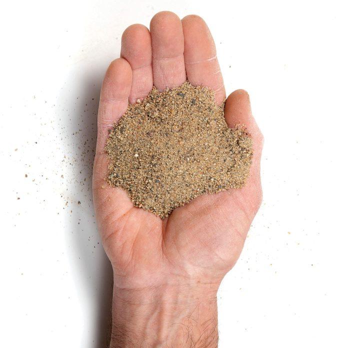 sticky sand for pavers