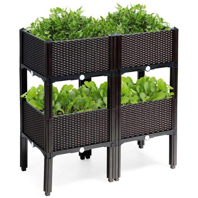 Double garden beds