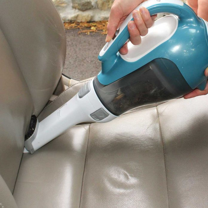 Vacuuming seats
