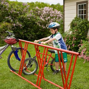 How to Make a Simple Bike Rack