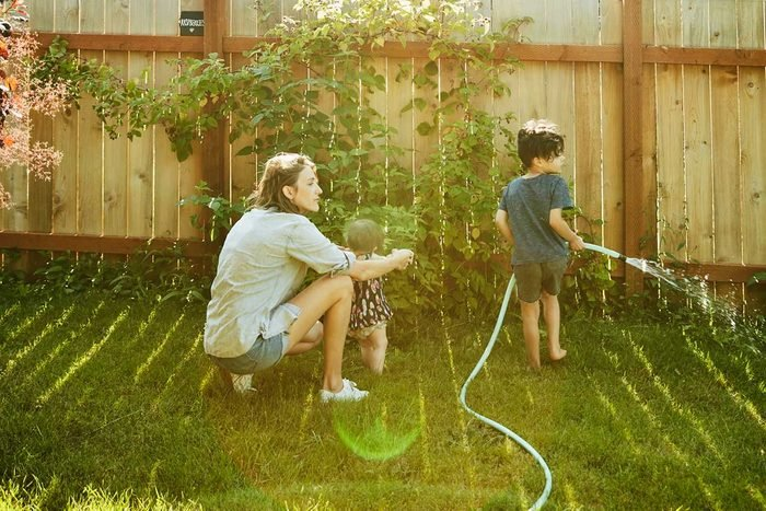 Watering Lawn Gettyimages 1022382590