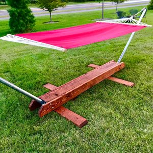 How to Build a Foldable Hammock Stand