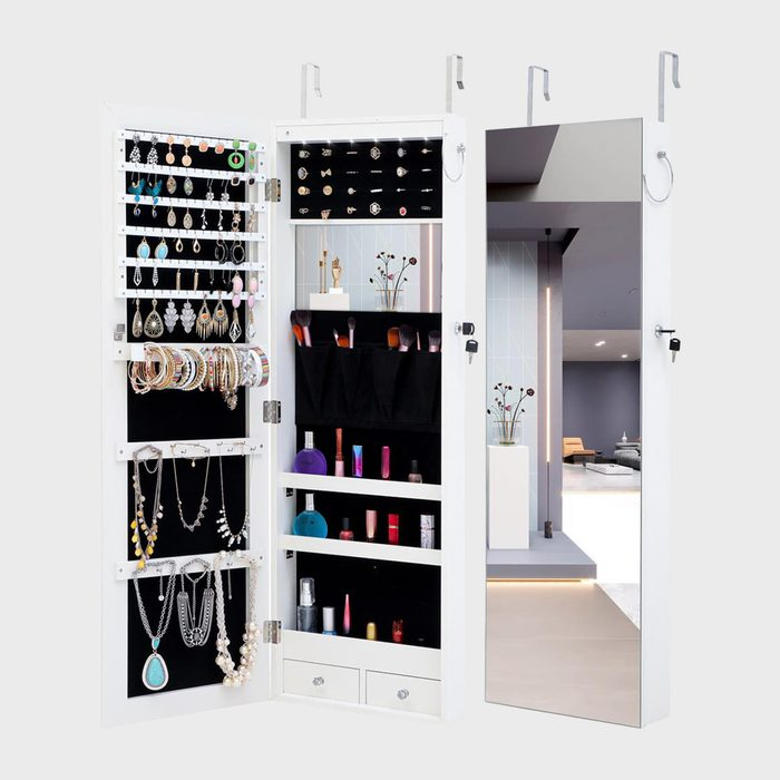 Jewelry Organizer Mirror