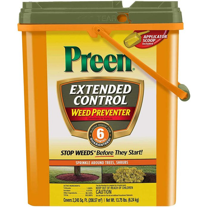 Preen extended control