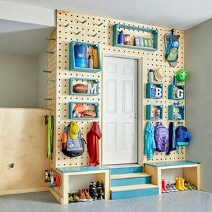 How to Build a Garage Storage Wall