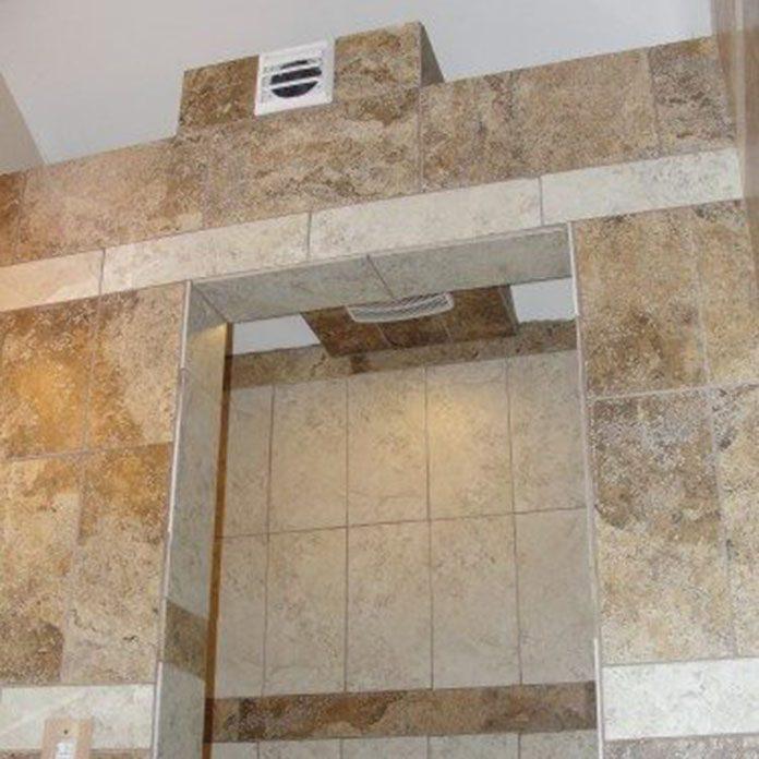 Useless Shower Fan Via Structure Tech