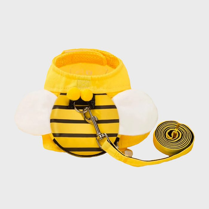 Cute Bee Harness And Leash Vest For Cats