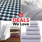 Deals We Love: Bedding and Bath Decor
