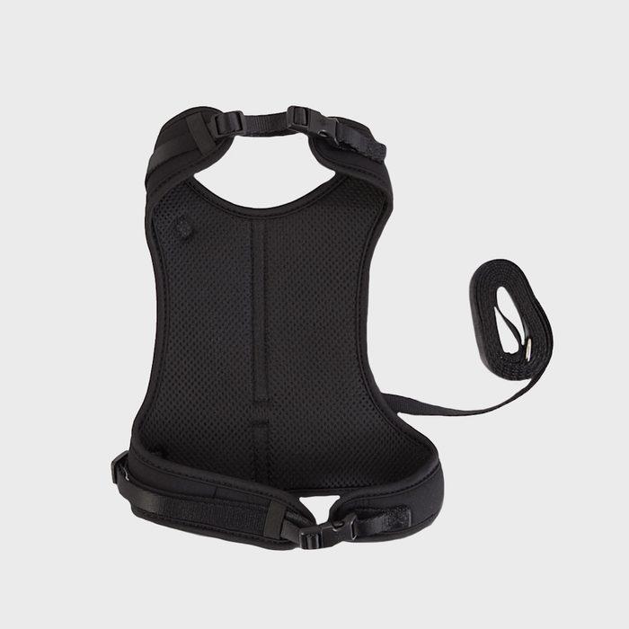 Good2go Black Big Cat Harness And Leash Set