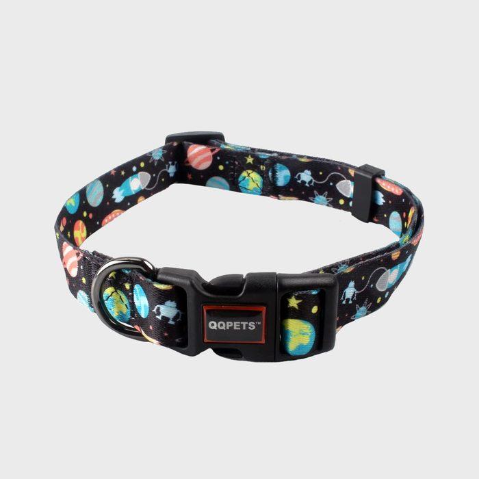 Qqpets Adjustable Soft Dog Collar