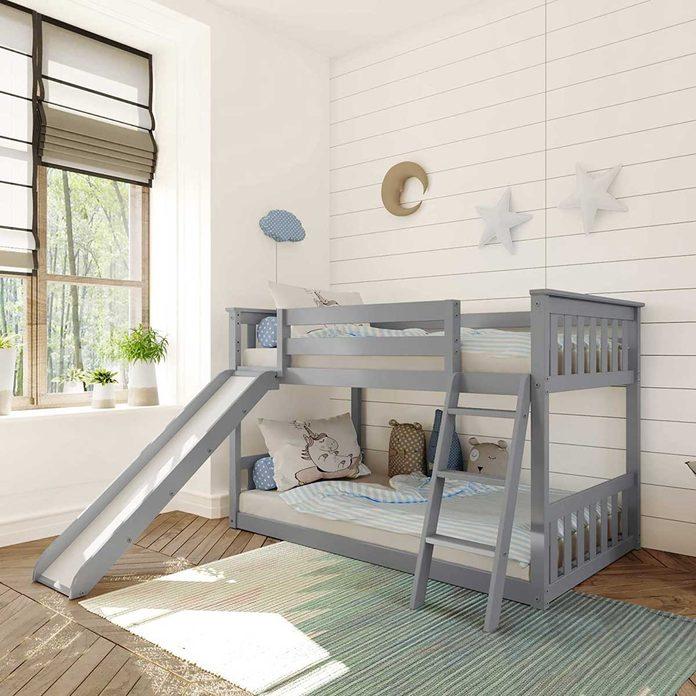 Space saving bed