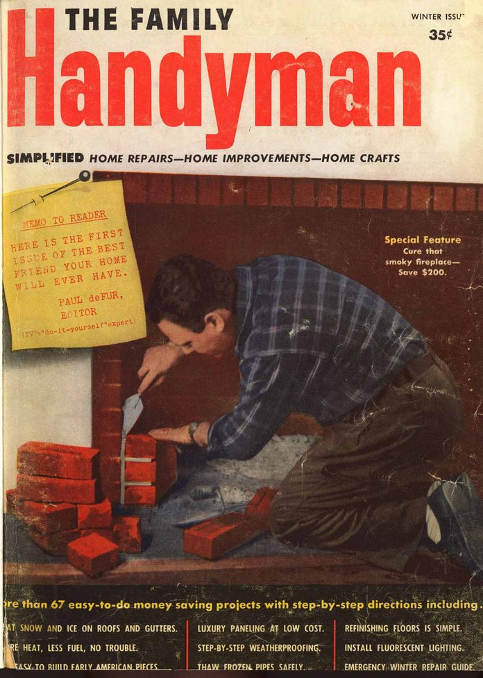 first family handyman cover winter 1951