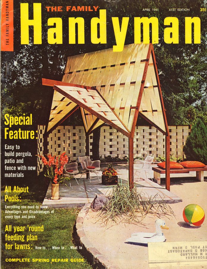 spring 1961 cover