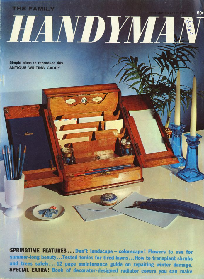 spring 1962 cover