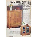 Family Handyman's Vintage Authentic Oak Ice Chest Project
