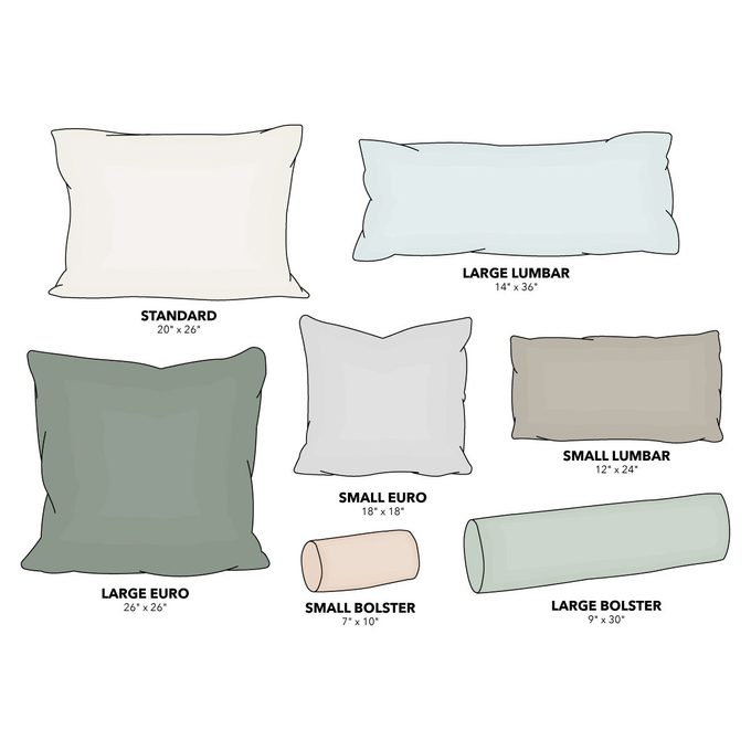 pillow arrangements