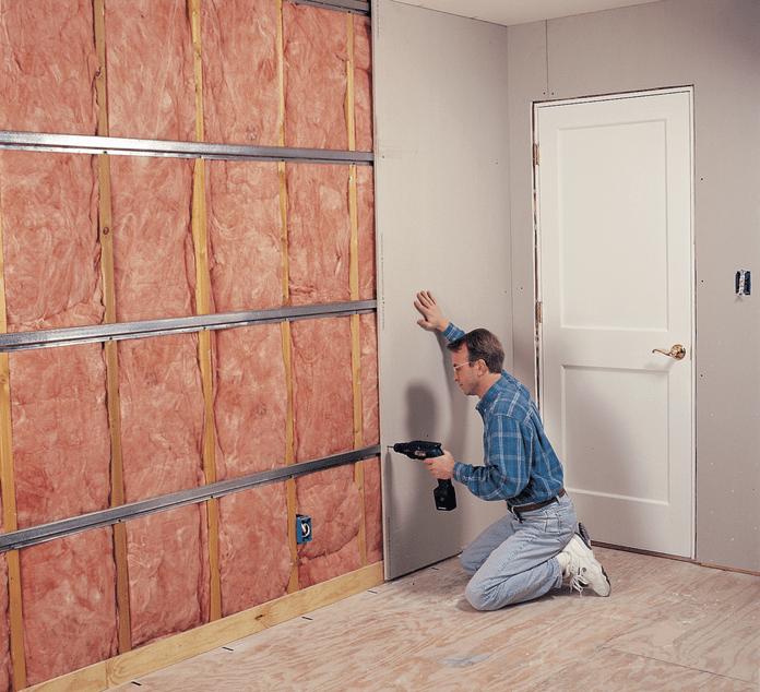Attach Drywall