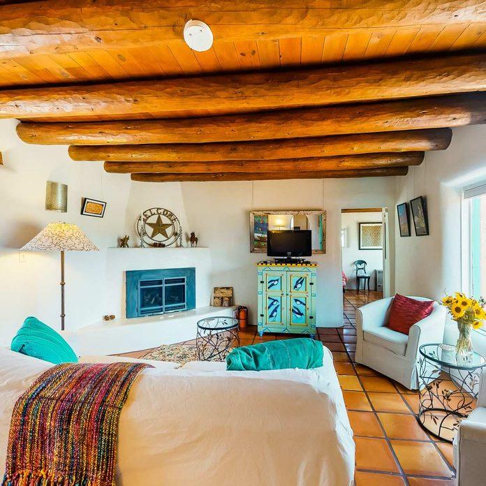 adobe style stucco home