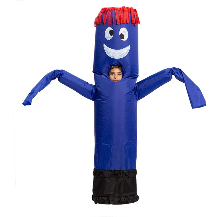 Inflatable dancer costume
