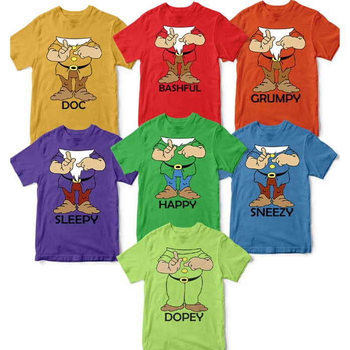 7 Dwarves t-shirts