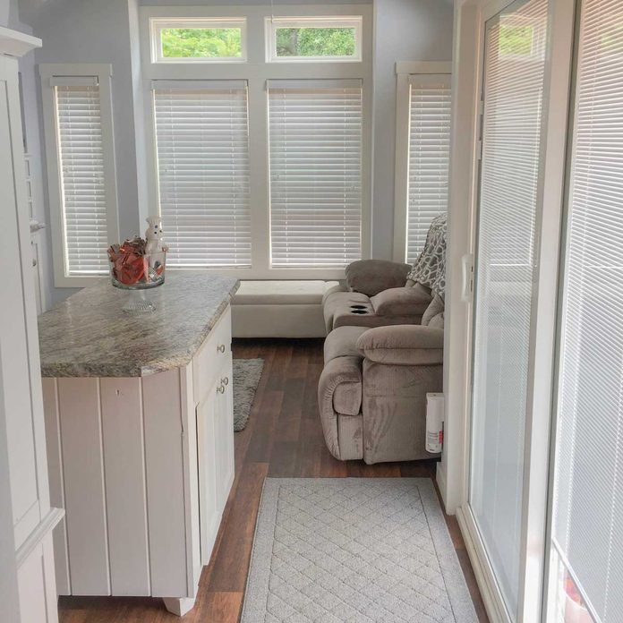 Small room in a home