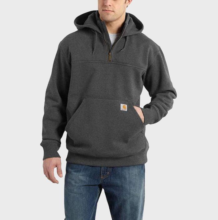 Carhartt Rain Defender Heavyweight Sweatshirt Via Carhartt