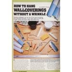 Family Handyman Vintage Project from 1983: How to Hang Wallpaper