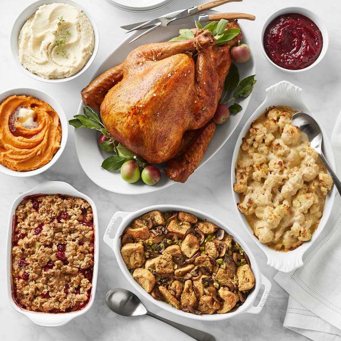 thanksgiving dinner williams sonoma