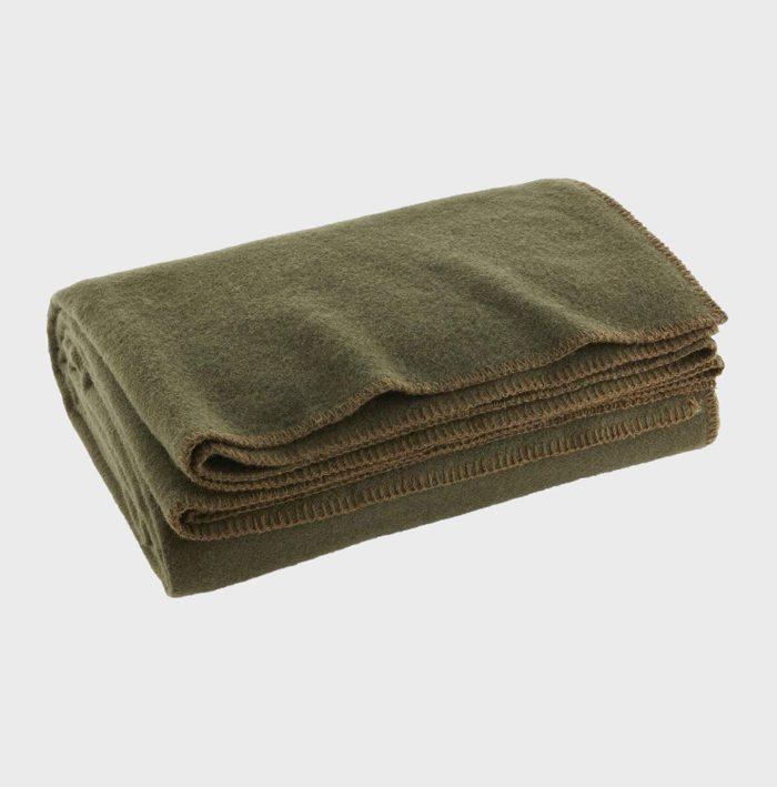 Wool Fire Retardant Blanket Via Amazon