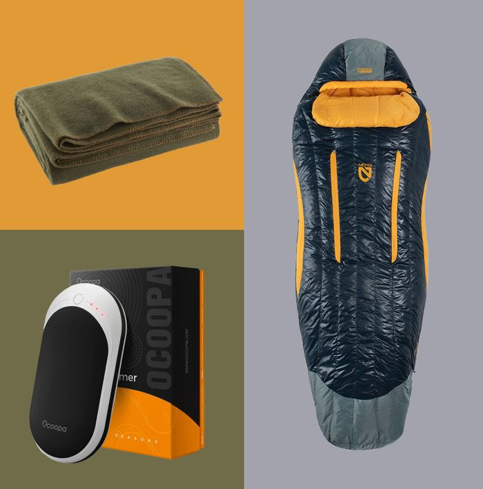Camping Supplies Featured Product Collage