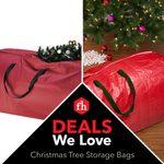 Deals We Love: Christmas Tree Storage Bags