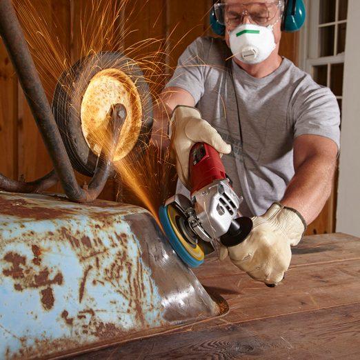 repairing rust