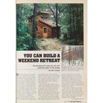 Vintage Family Handyman Project from 1982: How to Build a Weekend Retreat